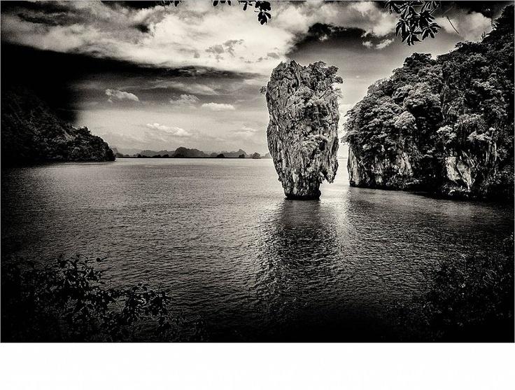 THAILAND - James Bond Felsen