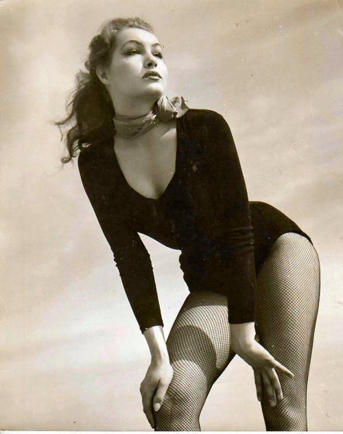 Julie Newmar.  The Nifty Fifties