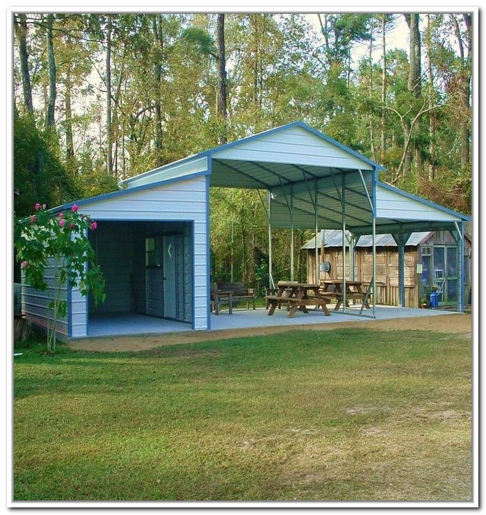 1000 images about carports on pinterest carport plans for Carport with storage shed attached