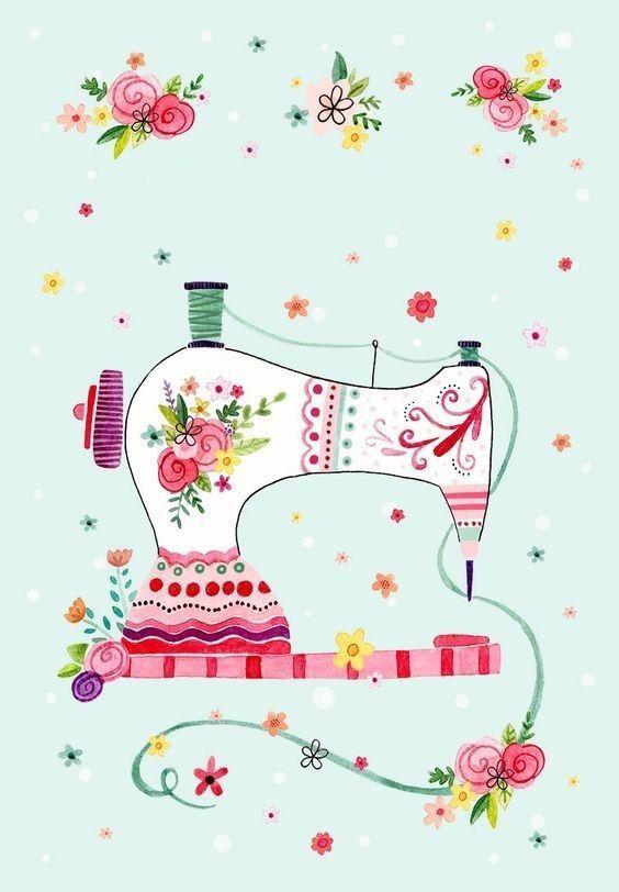 13 июня день рождения швейной машинки открытки