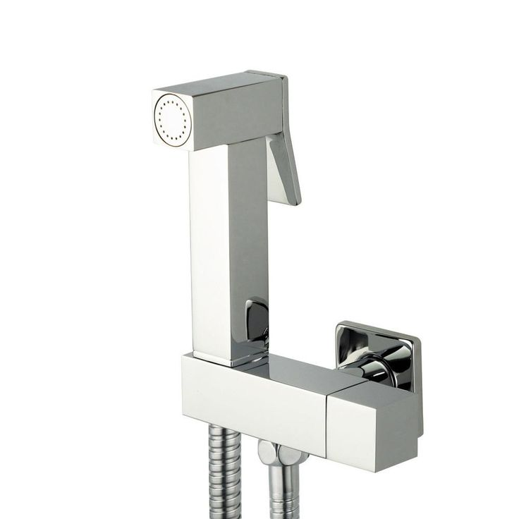 [Visit to Buy] wall mouted Toilet Brass Bidet Spray Shattaf Shower Kit Sprayer Jet with Shut off Valve 02-091A #Advertisement