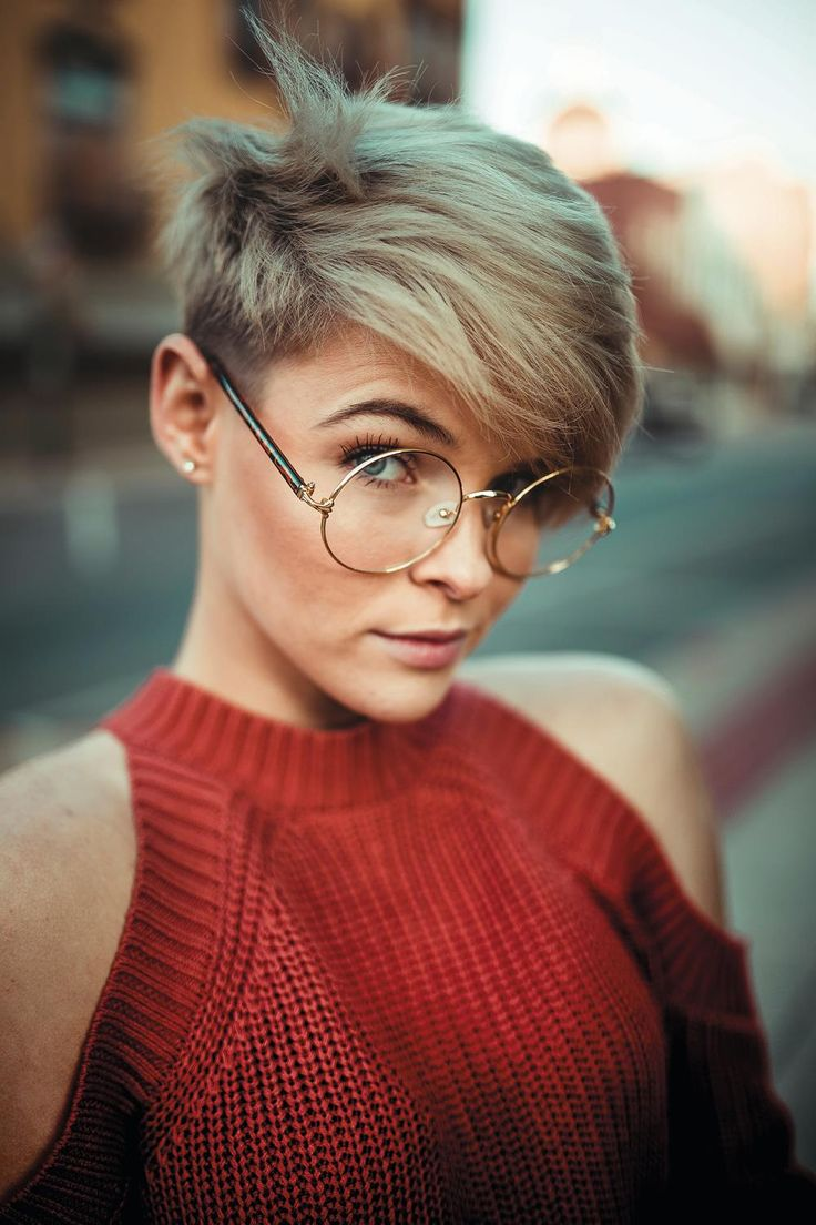 AMAZING 2019-2020 SHORT PIXIE HAIR WITH BANGS FOR MORE CHARMING LOOK!