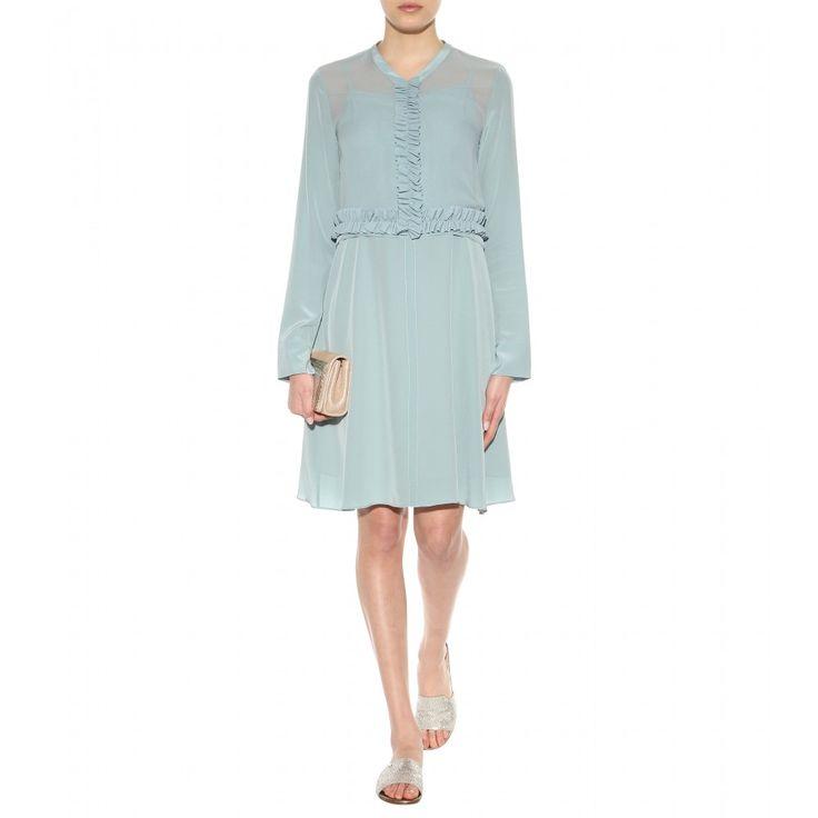 Dorothee Schumacher - Bitter silk chiffon dress - mytheresa.com
