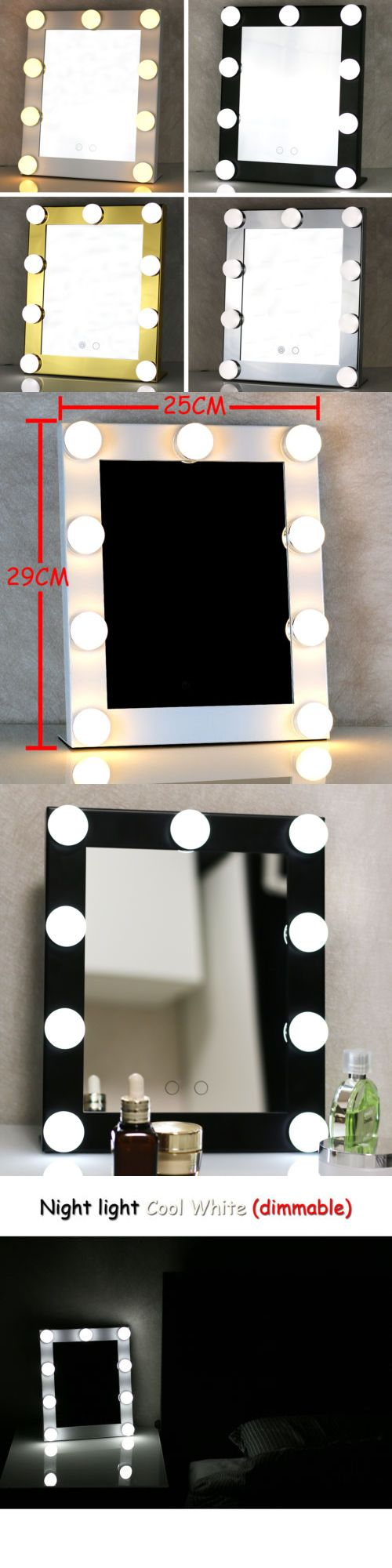 makeup mirrors led bulb vanity lighted hollywood makeup mirror with dimmer stage beauty mirror buy