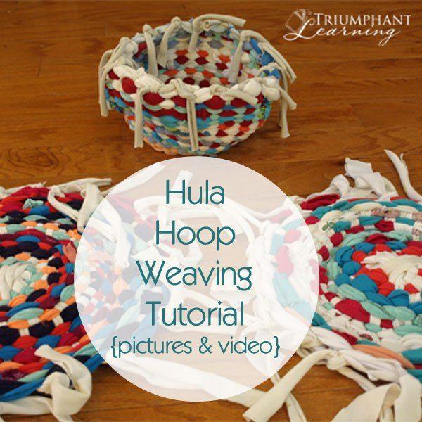 Handicrafts Hula Hoop Weavinghula
