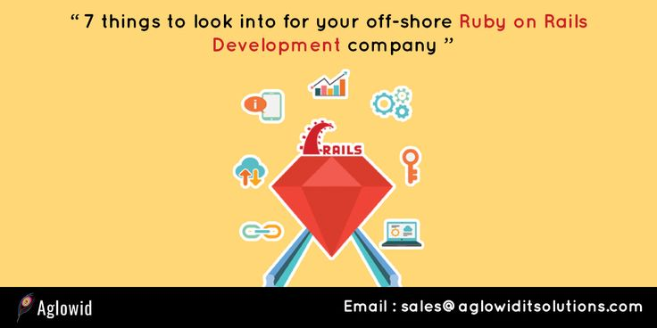 7 Things to Look Into for Your Off-shore Ruby on Rails Development Company #rubyonrailsdevelopment #rubyonrailswebdevelopment #rubyonrailsdevelopmentcompany #rubyonrailsdevelopmentteam #rubyonrailsdevelopmentservices http://aglowiditsolutions.com/blog/7-things-look-into-offshore-ruby-on-rails-development-company/