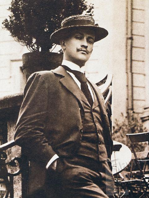 Czech architect Jan Kotěra (1821-1923)