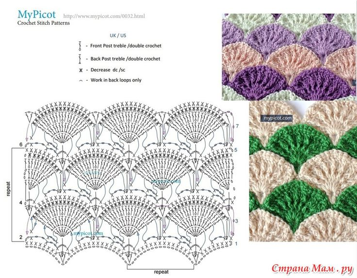 327 best Crochet 12b puntos combinados images on Pinterest ...