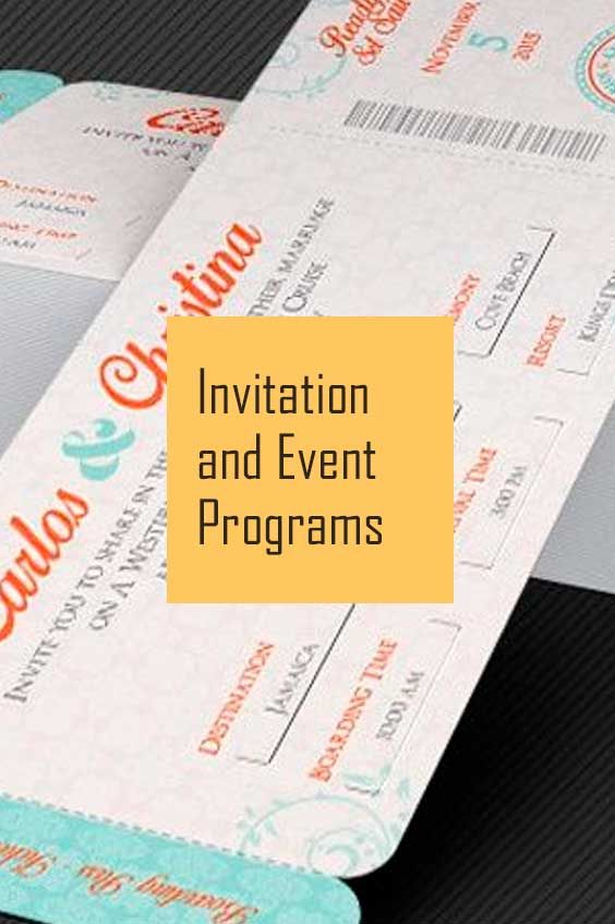 104 best Invitation and Event Programs Templates images on - syllabus template