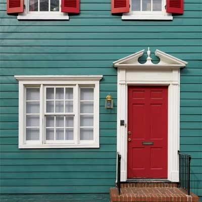 13 best Front door colors for red house images on Pinterest | Red ...