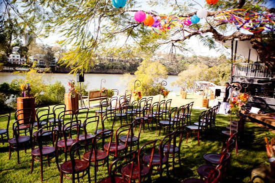 Wedding by the river in Toowong!