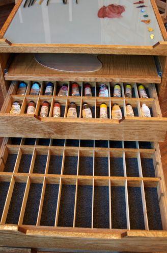 231 best artist studio organization images on pinterest for Skilled craft worker makes furniture art etc