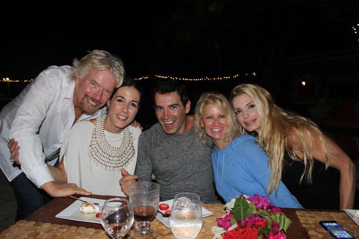 Richard Branson and the fun friends  www.TiaraCameron.com