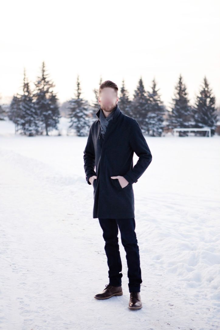 Coat: Topman Scarf: H&M Jeans: Uniqlo Boots: Call It Spring