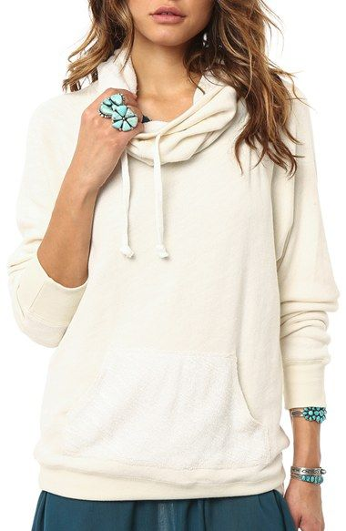 O'Neill 'Northern' Cowl Neck Hoodie available at #Nordstrom