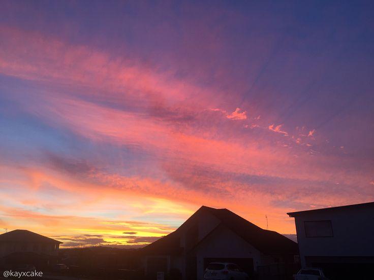 Sunset #kayxcake