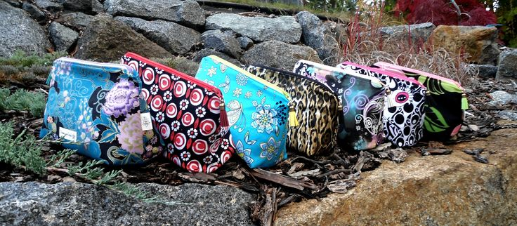 Cosmetic bags made for the festival