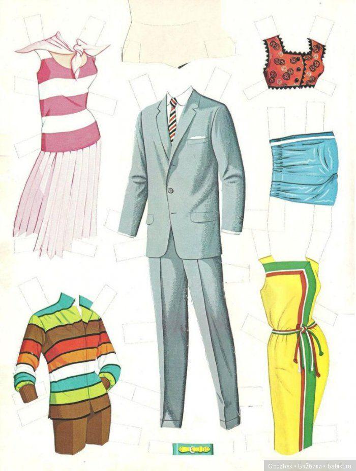 Бумажные куклы Барби / Бумажные куклы с одеждой для ...