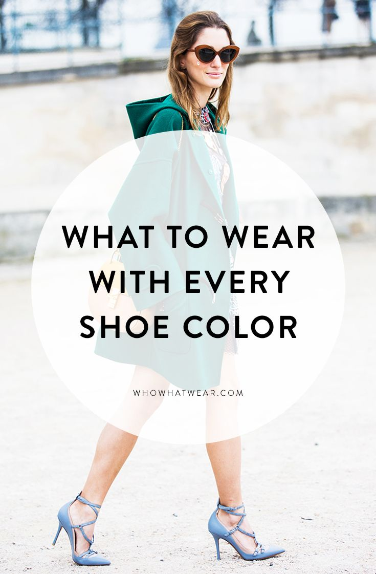 Tips on how to style every shoe color