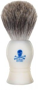 Pędzel - Badger Shaving Brush White