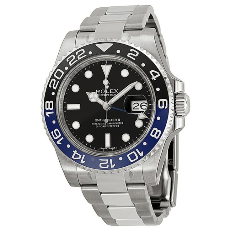 Rolex Men's GMT Master II Dial Watch