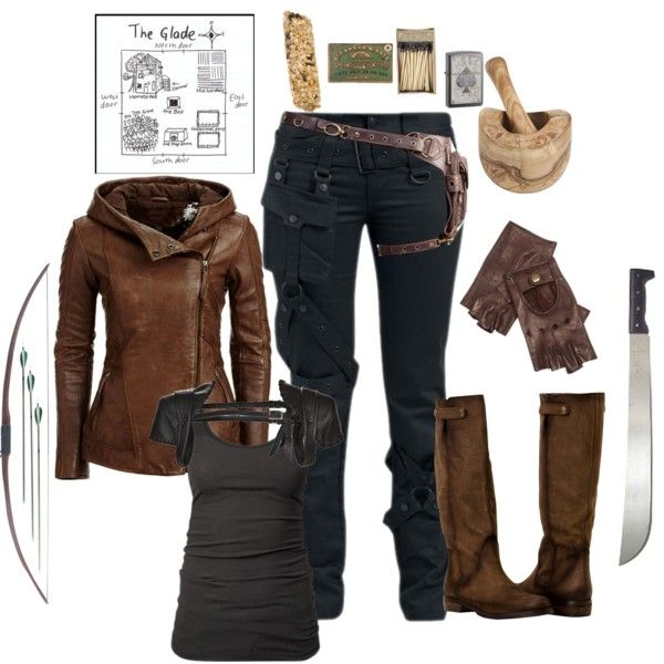 """Female gladiator- the maze runner"" by gone-girl on Polyvore"