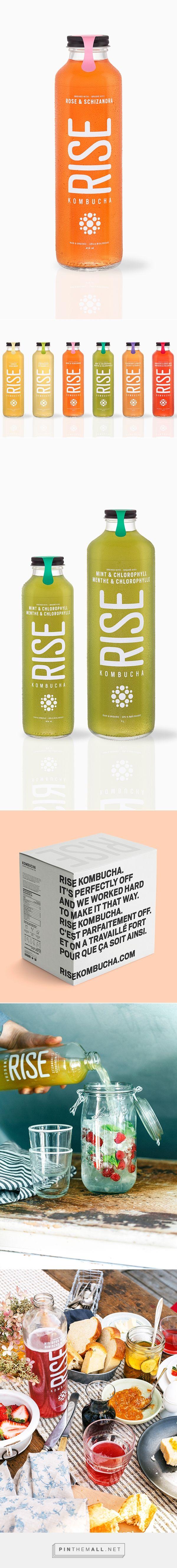 RISE Kombucha Packaging