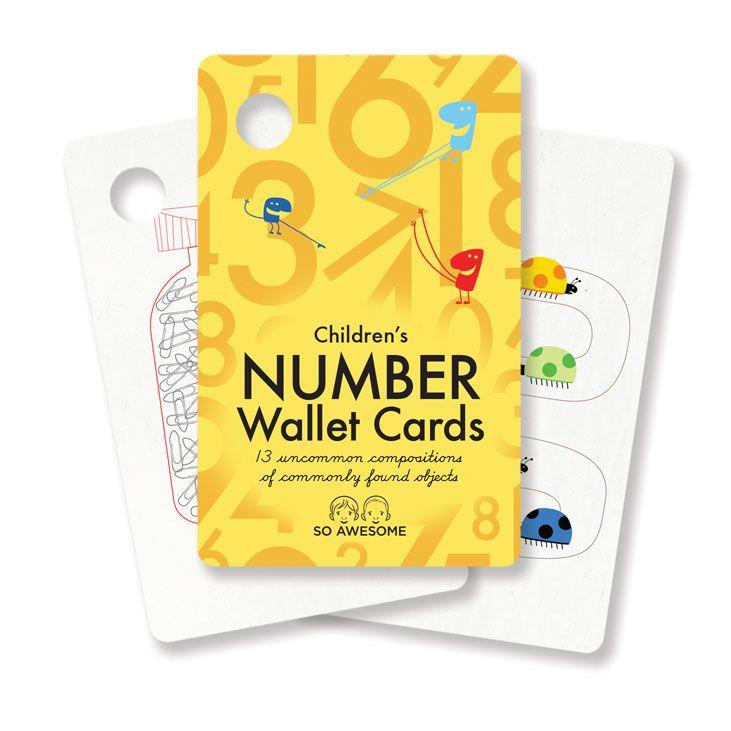 Children's Number Wallet CardsMath Plays, Children Numbers, Children Wallets, Non Tox Wallets, Elk Plays, Children Abc, Children Activities, Abc Wallets, Wallets Cards