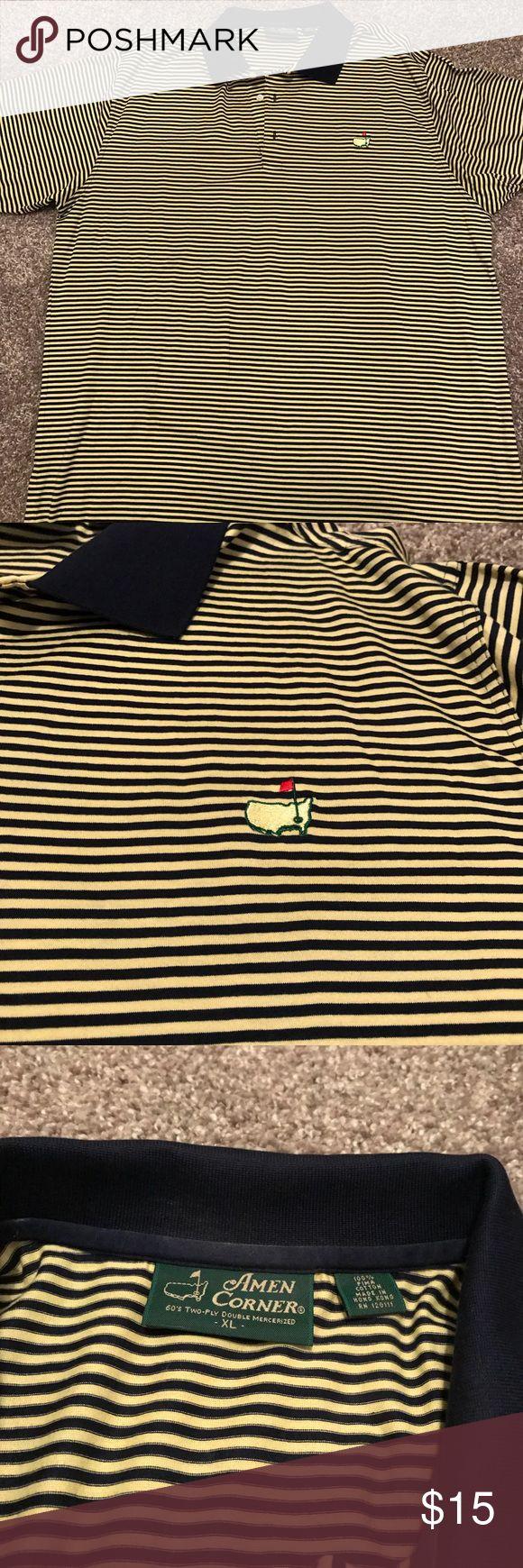Amen Corner Golf Polo Shirt Crisp clean condition great for that die hard golfer amen corner Shirts Polos