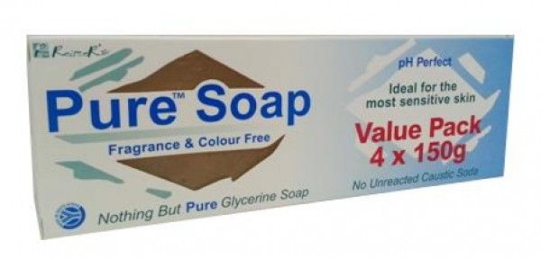 REITZER PURE SOAP 150G 3+1 VALUE PACK
