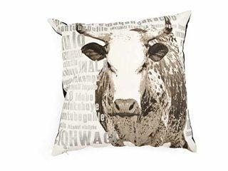 Nguni cushion - love it