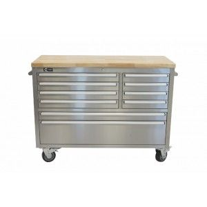 Trinity 48 Stainless Steel Workbench Perfect For Any