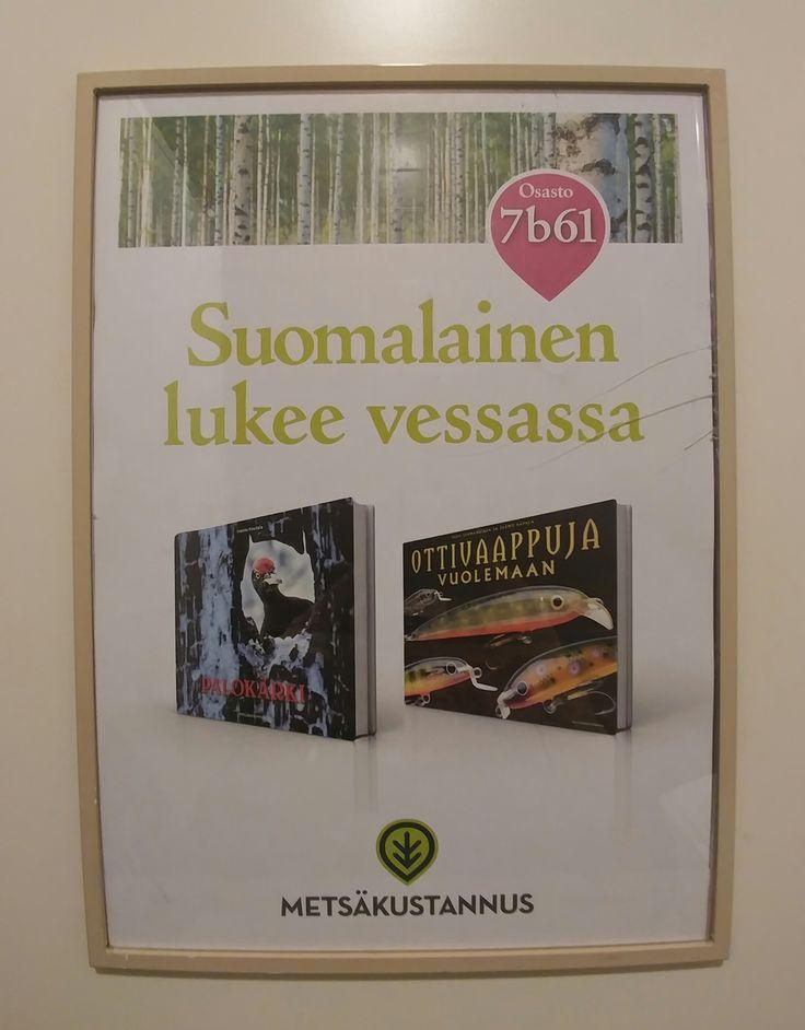 Hih! :) #kirjamessut #lukeminen #vessahuumori
