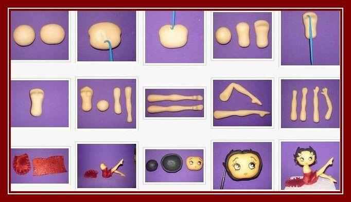 how to keep moulded fondant figurine