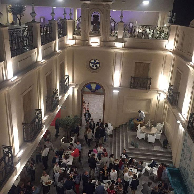 Inauguración de Restaurante Casa Moral en Los Palacios, Sevilla, apadrinado por nuestros productos de Jabugo y cárnicos... Los asistentes encantados con nuestra calidad.