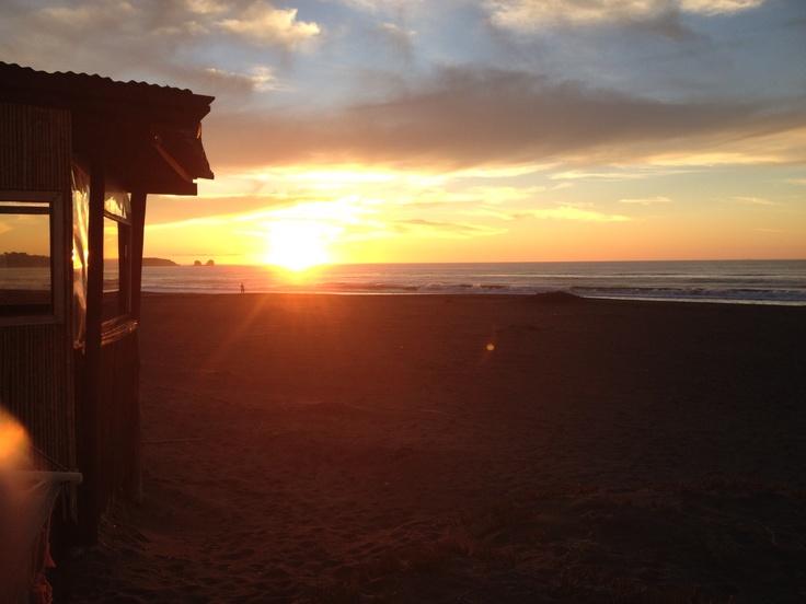 Sunset in Pichilemu