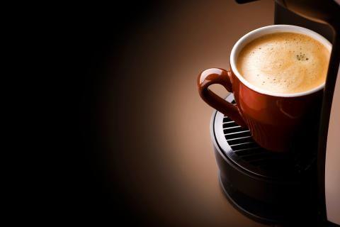 Xícaras de café café expresso da manhã- Imagem 2560x1600
