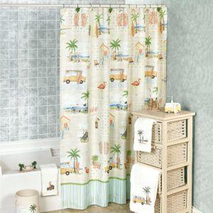 Beach Themed Shower Curtain Hooks