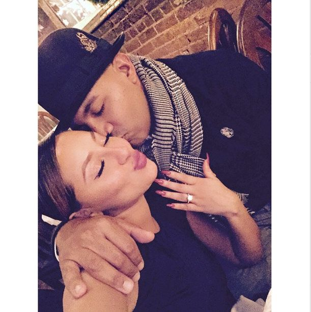 Adrienne Bailon's Engaged: Rob Kardashian's Ex Is GettingMarried