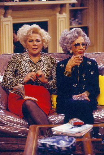 Ann Morgan Guilbert and Renée Taylor in The Nanny (1993)
