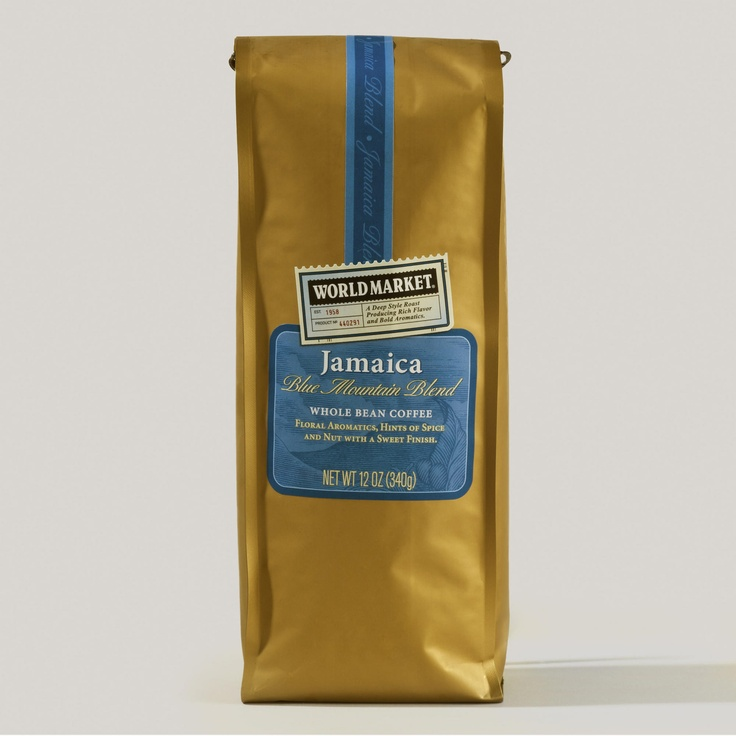 World Market® Jamaica Blue Mountain Blend Coffee | World MarketBlue Mtn, Beans Blends, Jamaica Blue, Blends Create, Mtn Blends, Mountain Blends, Coffee Sets, Blends Coffee, Blue Mountains