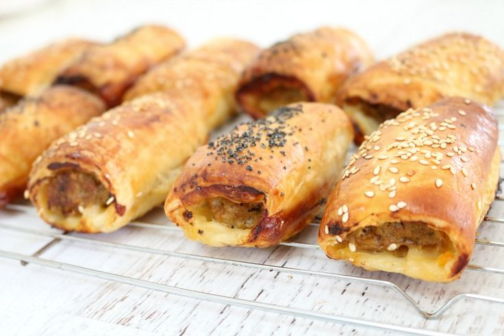 These Easy Homemade Sausage Rolls are such a family favourite! Freezer-friendly and super quick - this is sure to become your go-to sausage roll recipe (Thermomix and conventional methods included).