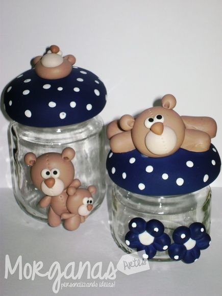 Potinhos de ursinhos