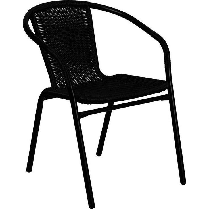 Ronny Rattan Indoor/Outdoor Stackable Restaurant Chair