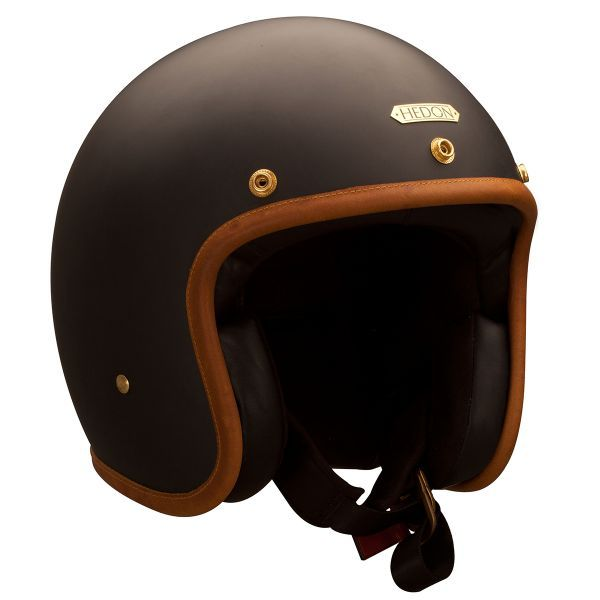 Casque Jet HEDON Hedonist Stable Black