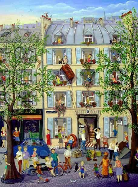 Moving from Paris de Linda Frances Tott