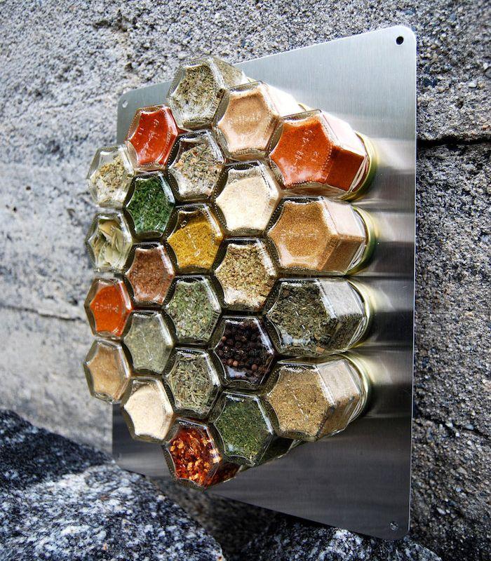 Les Meilleures Idées De La Catégorie Rangement épices Sur - Meuble a epices cuisine pour idees de deco de cuisine
