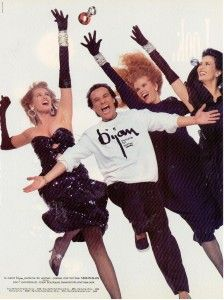 Bijan Perfume ad 1987. I just sprayed this. I feel like this photo.