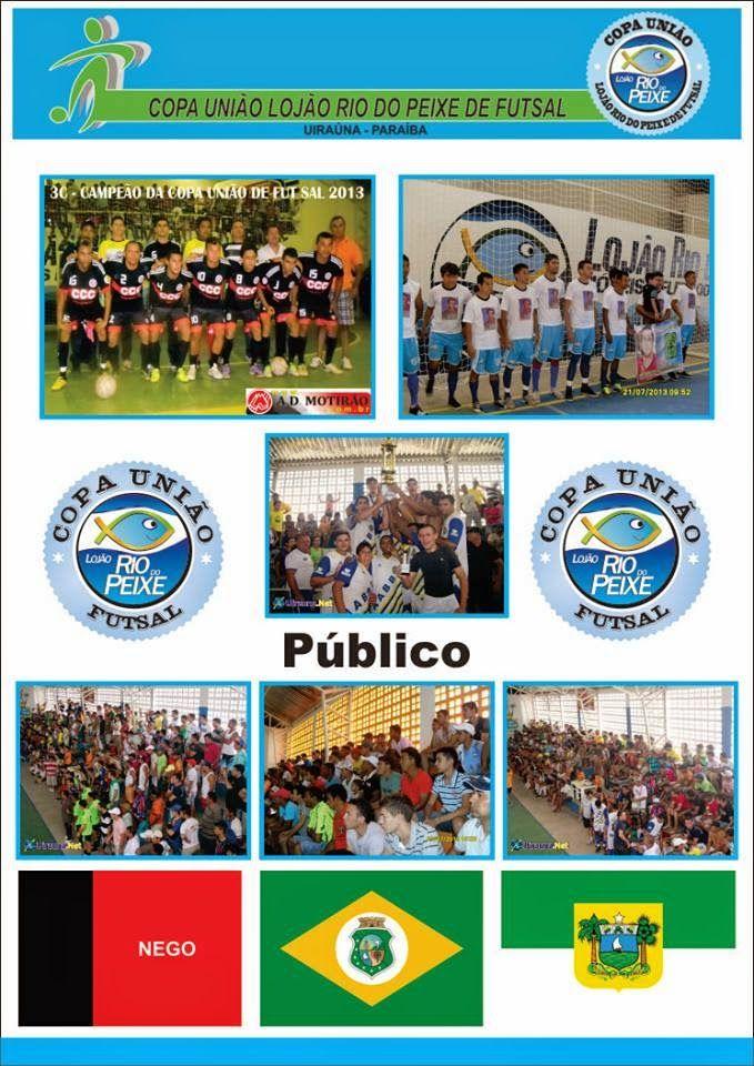 Portal Esporte São José do Sabugi: VEM AI: 6ª Copa União de Futsal Lojão Rio do Peixe...