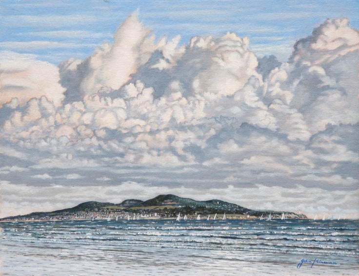 Howth from Dollymount by John Kirwan  SizeCanvas - Frame